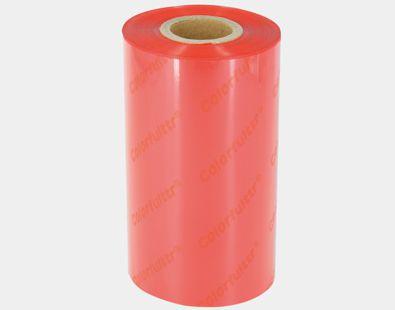 深圳碳带厂家录像电影网,凯乐弗碳带品牌生产的CR2红色条码打印机碳带