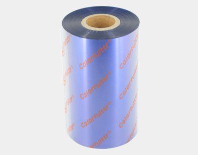 深圳彩色碳带厂家你懂的影院,凯乐弗碳带品牌生产的CB2蓝色条码碳带