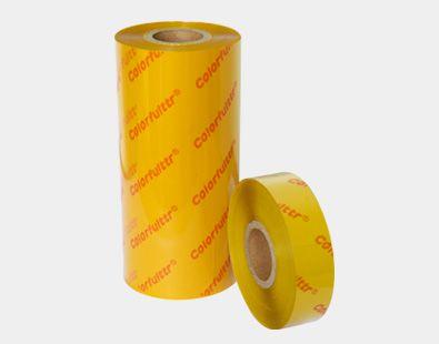 凯乐弗碳带品牌生产的CY3黄色条码打印机碳带