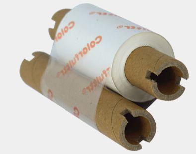 凯乐弗碳带品牌生产的CW2白色小管芯条码碳带